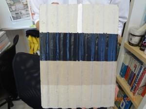 コーキング先打ち塗装仕上比較