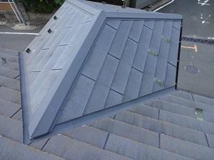 柏市宿連寺K様邸 屋根塗装