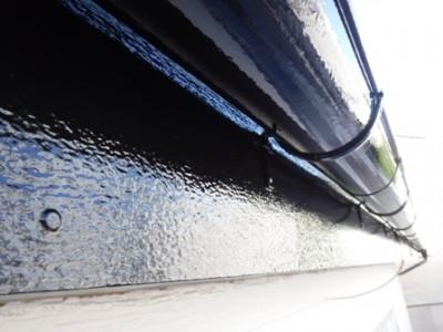 千葉県柏市O様 破風板と雨樋塗装