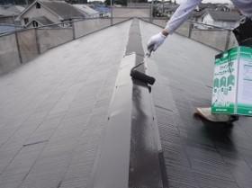 柏市布施新町T様邸 屋根塗装