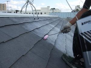 千葉県市川市 屋根塗装15
