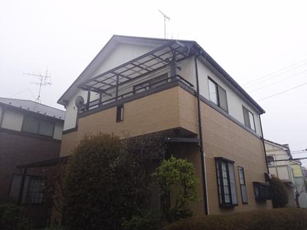 野田市K様 外壁塗装4年点検