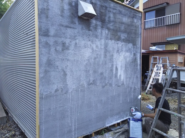 千葉県柏市 モルタル造形 エイジング