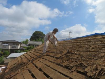 つくば市I様邸 物置屋根改修工事