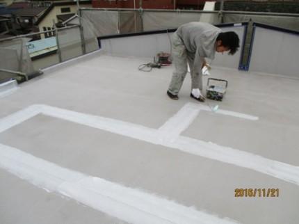 神奈川県川崎市 屋上アスファルト防水改修工事