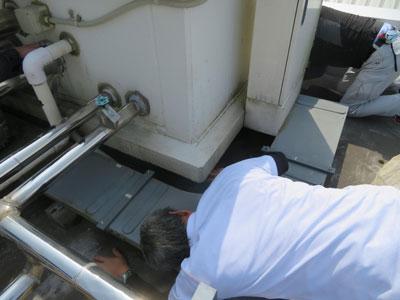 二松学舎大学屋上防水