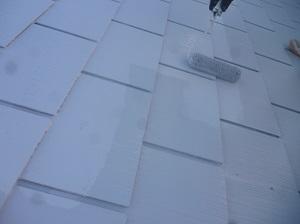 守谷市O様邸 屋根塗装