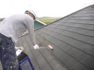 つくばみらい市F様邸 屋根塗装10