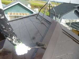つくばみらい市F様邸 屋根塗装15