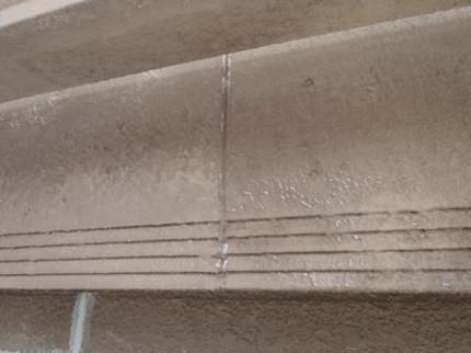 八潮市I様邸 破風板の塗装前状態