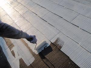 柏市篠籠田I様邸 屋根塗装