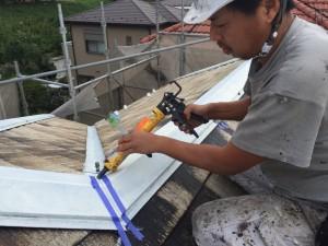 柏市O様邸 屋根塗装