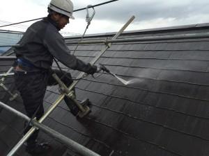 千葉県印西市滝野 O様邸 屋根塗装1
