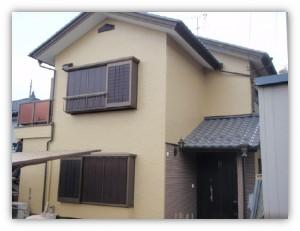 茨城県取手市 H様邸 外壁塗装と屋根塗装の外壁の施工後写真