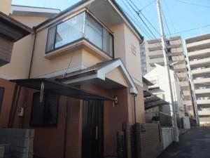 千葉県船橋市 U様邸 外壁塗装と屋根塗装の外観の施工後写真