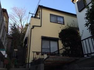 松戸市の外壁塗装と屋根塗装の外観の施工後写真