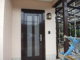 茨城県つくばみらい市N様邸の外壁塗装と屋根塗装工程:その他の付帯塗装