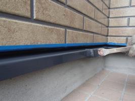 千葉県柏市O様邸の外壁塗装と屋根塗装工程:その他の付帯塗装