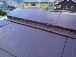 茨城県取手市K様邸の外壁塗装と屋根塗装工程:その他の付帯塗装3