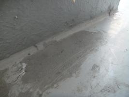 千葉県船橋市の屋根塗装工程の劣化箇所の補修(カチオンセメント)