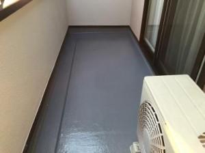 印西市K様 付帯塗装:ベランダ防水