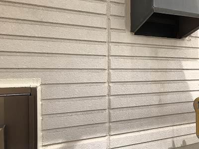 常総市Y様邸 外壁補修 コーキング工事(増し打ち)