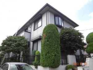 千葉県我孫子市 H様邸 外壁塗装と屋根塗装の外観の施工前写真