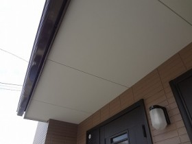 野田市K様邸 破風板塗装