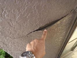 外壁の剥がれ補修