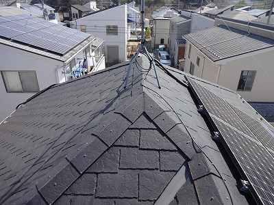 野田市S様邸 屋根塗装