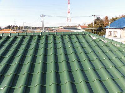 野田市T様邸 屋根塗装
