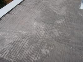 屋根の下処理(ケレン)3
