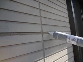 千葉県柏市O様邸の外壁塗装と屋根塗装工程:ヒビ割れや釘頭の処理