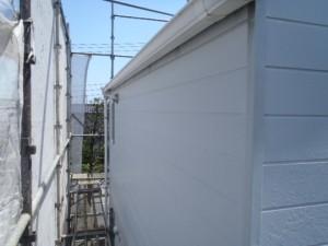 千葉県柏市O様邸の外壁塗装と屋根塗装工程:施工前写真