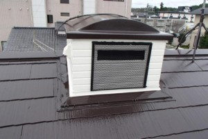 成田市の外壁塗装と屋根塗装の外壁の施工後写真