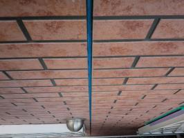 千葉県松戸市O様邸の外壁塗装と屋根塗装工程:目地のコーキング剤の打ち替え