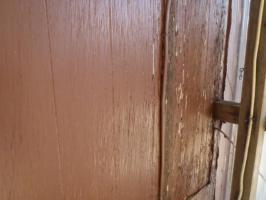 千葉県松戸市A様邸の外壁塗装と屋根塗装工程:高圧洗浄