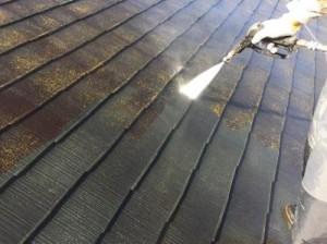 千葉県市川市真間 O様邸(アパート) 屋根塗装1