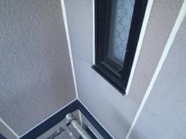 茨城県取手市M様邸の外壁塗装と屋根塗装工程:目地のコーキングの打ち替え