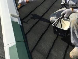 千葉県市川市真間 O様邸(アパート) 屋根塗装6