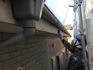 千葉県市川市真間 O様邸(アパート) 破風板塗装1
