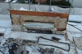 千葉県成田市M様邸の外壁塗装と屋根塗装工程:通気口の修復(撤去と新設)