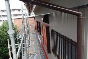 松戸市の外壁塗装と屋根塗装の外壁の施工後写真