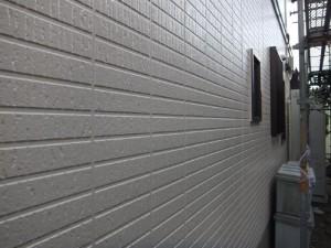 茨城県つくばみらい市 N様邸 外壁塗装と屋根塗装の外壁の施工後写真