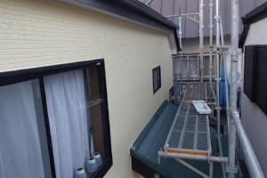 千葉県松戸市 S様邸 外壁塗装と屋根塗装の外壁の施工後写真