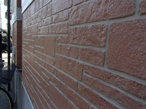 取手市 A様の外壁塗装と屋根塗装の外壁の施工後写真