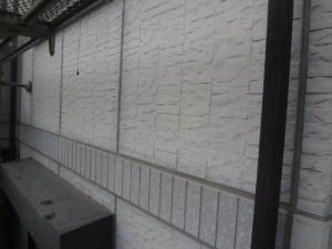 千葉県我孫子市 H様邸 外壁塗装と屋根塗装の外壁の施工前写真