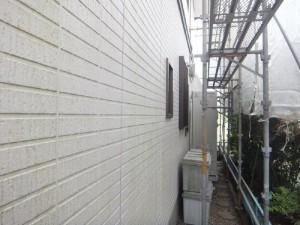 茨城県つくばみらい市 N様邸 外壁塗装と屋根塗装の外壁の施工前写真