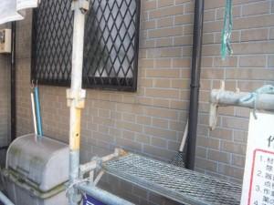 千葉県船橋市 U様邸 外壁塗装と屋根塗装の外壁の施工前写真
