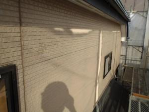 千葉県松戸市 S様邸 外壁塗装と屋根塗装の外壁の施工前写真